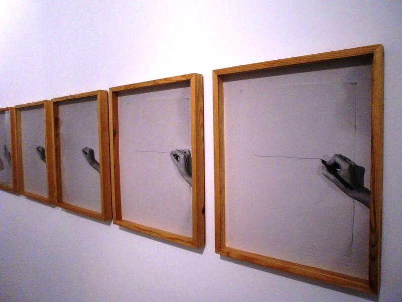 Dessin habité, 1977, d'Helena Almeida. Photo DR.