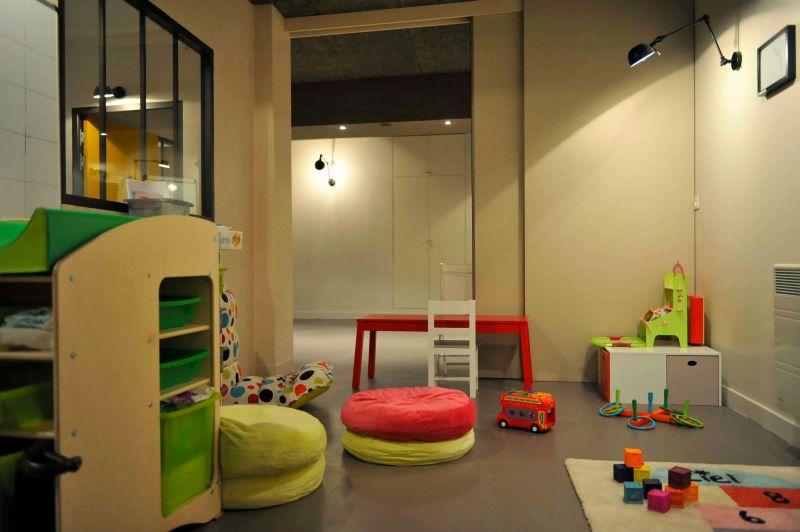 Happy Families à Paris-espace garderie des petits