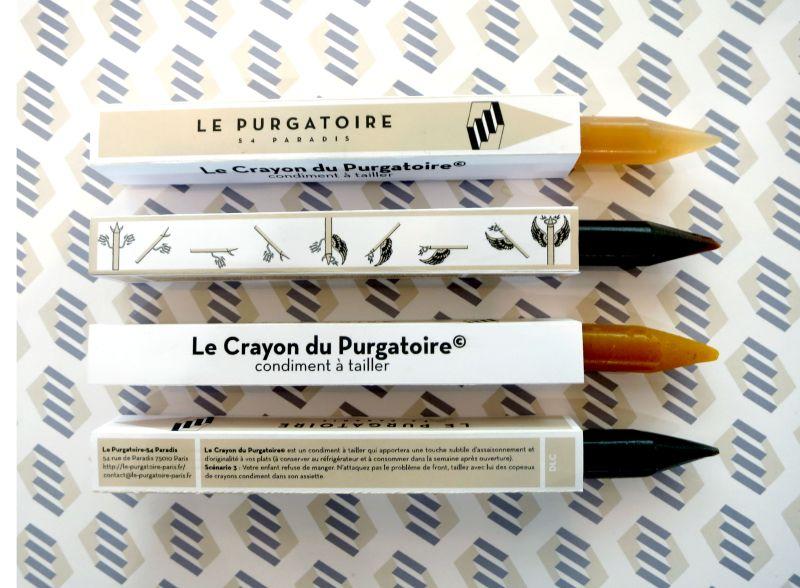 Crayons aromatiques à tailler au dessus des plats